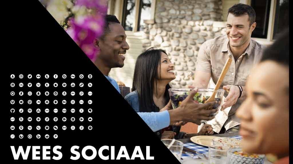 Wees sociaal