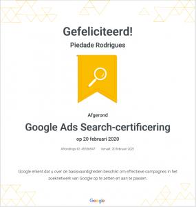 Google-certificaat