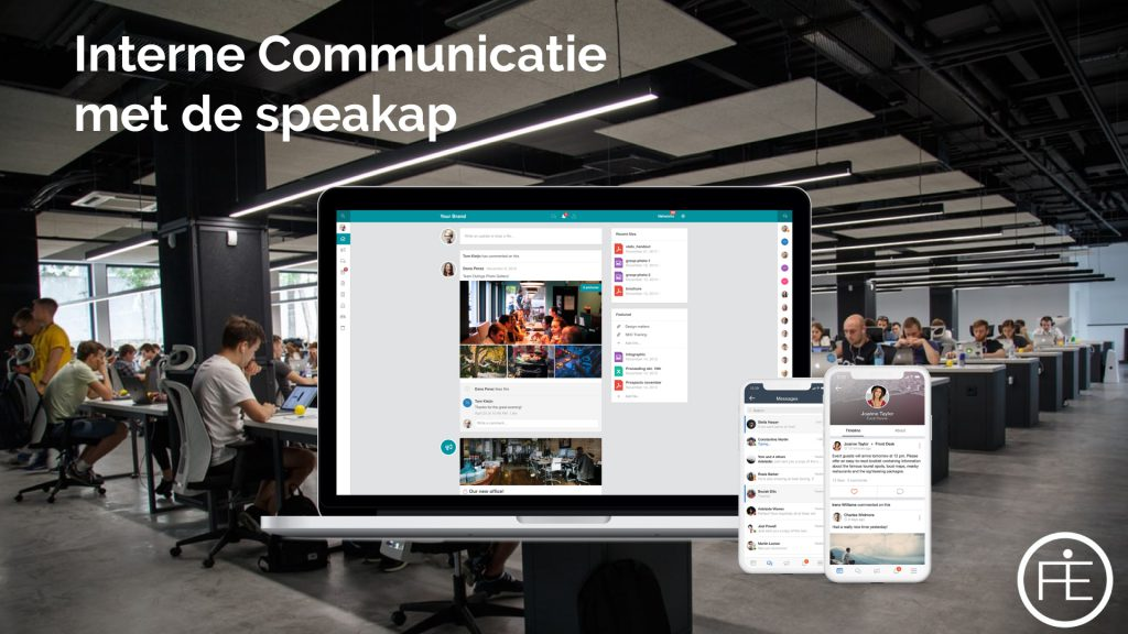 Interne communicatie met de Speakap