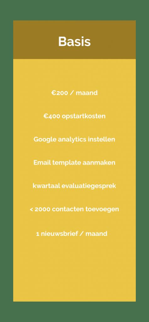 email-marketing-basis-prijs-tabel-website-piedade